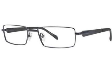 Columbia Zephyr Single Vision Prescription Eyeglasses - Frame Semi Matte Gunmetal, Size 55/17mm CBZEPHYR01