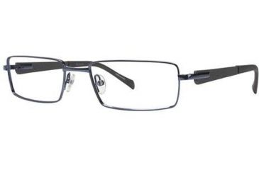 Columbia Zephyr Single Vision Prescription Eyeglasses - Frame Shiny Carbon, Size 55/17mm CBZEPHYR03