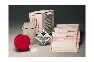 Com-Pac Infecon 3000 Infectious Substance Shipper, Com-Pac INF-3003 Infecon 3000 Replacement Components Bubble Pouches And Absorbent