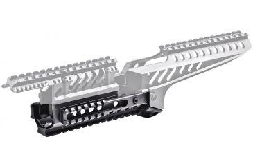 Command Arms Accessories AK47 Aluminum Lower Handguard w/3 Rails XRS47B