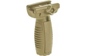 Command Arms Accessories Tactical Short Vertical Grip, Tan MVGTAN