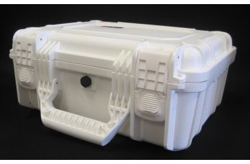 Condition 1 075 Watertight Medium Case with Foam, WHITE