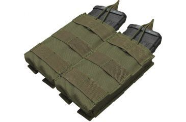 Condor Double M4/M16 Open Top Mag Pouch, Olive Drab MA19-001