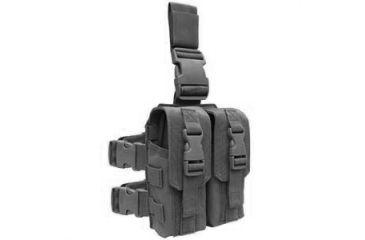 Condor Drop Leg M4 Mag Pouch, Black MA65-002