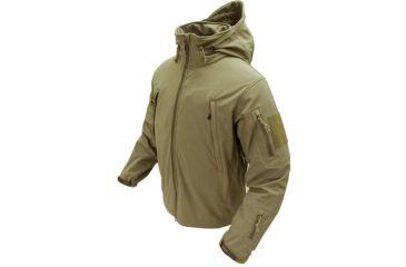 Condor Summit Softshell Jacket Tan, L 602-003-L