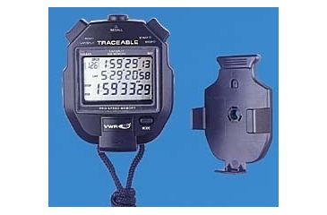 Control Company All-Function Stopwatch with Countdown 1052 Vwr Trceable Stopwatch 500 Mem