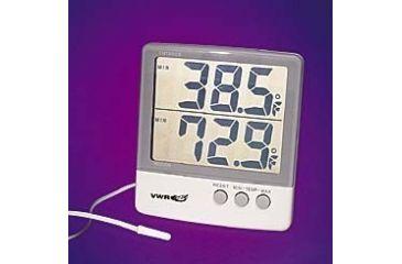 Control Company Big-Digit Thermometer with Dual Minimum/Maximum Memory 4126 Vwr Thermometer Digtl MIN/MAX