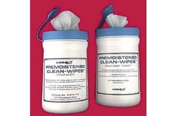 Control Company Premoistened Clean-Wipes 2060 Wipes Premoistened With Deionized Water