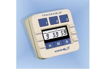 Control Company Three-Channel Alarm Timer 5002 Vwr Timer Tracable 3-CHANNEL