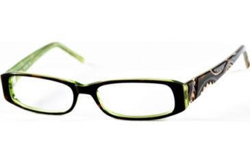Cover Girl CG0372 Eyeglass Frames - Havana Frame Color