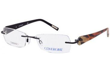 Cover Girl CG0388 Eyeglass Frames - Matte Black Frame Color