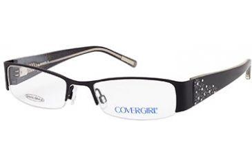 Cover Girl CG0391 Eyeglass Frames - Matte Black Frame Color