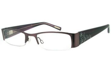 Cover Girl CG0391 Eyeglass Frames - Shiny Violet Frame Color