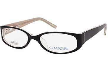 Cover Girl CG0392 Eyeglass Frames - Black Frame Color