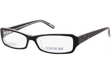 Cover Girl CG0396 Eyeglass Frames - Black Frame Color