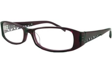 Cover Girl CG0417 Eyeglass Frames - Shiny Violet Frame Color