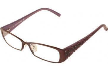 Cover Girl CG0418 Eyeglass Frames - Matte Violet Frame Color