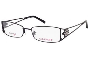 7a3e32e383 Cover Girl CG0421 Eyeglass Frames - Shiny Black Frame Color