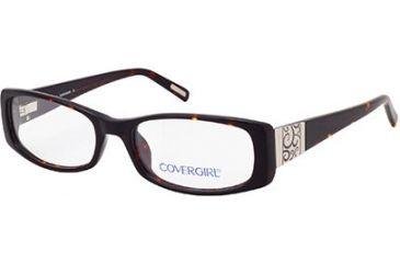 Cover Girl CG0422 Eyeglass Frames - Dark Havana Frame Color