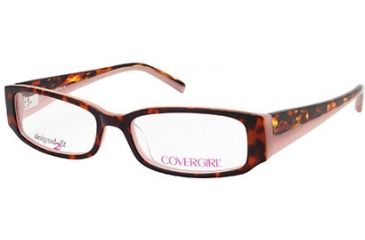 Cover Girl CG0428 Eyeglass Frames - Havana Frame Color