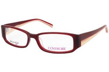 Cover Girl CG0428 Eyeglass Frames - Bordeaux Frame Color