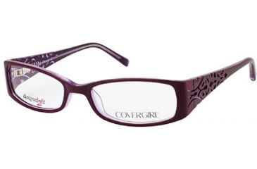 Cover Girl CG0429 Eyeglass Frames - Violet Frame Color