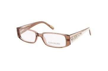 Cover Girl CG0430 Eyeglass Frames - Light Brown Frame Color