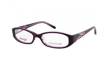 Cover Girl CG0431 Eyeglass Frames - Violet Frame Color