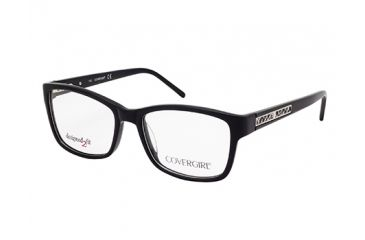 Cover Girl CG0434 Eyeglass Frames - Shiny Black Frame Color