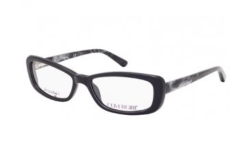 Cover Girl CG0436 Eyeglass Frames - Shiny Black Frame Color
