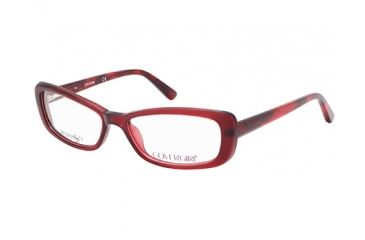 Cover Girl CG0436 Eyeglass Frames - Shiny Bordeaux Frame Color