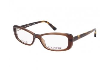Cover Girl CG0436 Eyeglass Frames - Shiny Dark Brown Frame Color