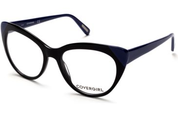 61dd2910f2 Cover Girl CG0480 Eyeglass Frames - Black Frame Color