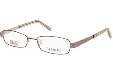 Cover Girl CG0504 Eyeglass Frames - Matte Light Brown Frame Color