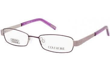 Cover Girl CG0504 Eyeglass Frames - Matte Violet Frame Color