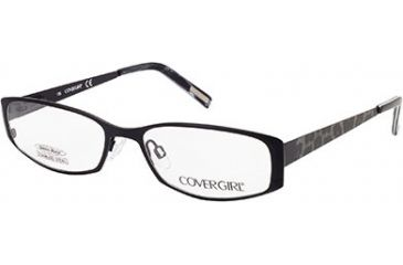 Cover Girl CG0505 Eyeglass Frames - Matte Black Frame Color