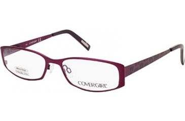 Cover Girl CG0505 Eyeglass Frames - Matte Violet Frame Color