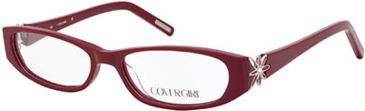 Cover Girl CG0507 Eyeglass Frames - Shiny Bordeaux Frame Color