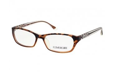 Cover Girl CG0510 Eyeglass Frames - Dark Havana Frame Color