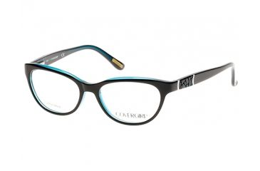 3732afc35c Cover Girl CG0528 Eyeglass Frames - Black Frame Color