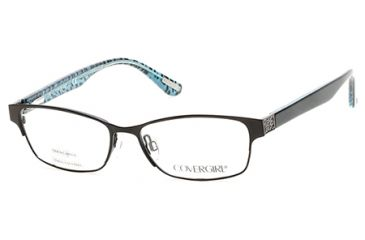 2386eac75f Cover Girl CG0530 Eyeglass Frames - Matte Black Frame Color