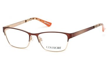 92cccce019 Cover Girl CG0532 Eyeglass Frames - Light Brown Frame Color