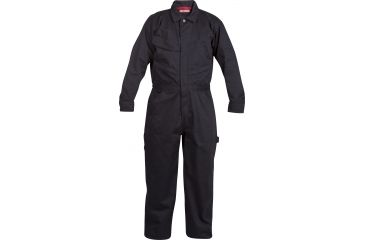 Craftsman Long Sleeve Twill Coverall Navy, Medium 17065-M