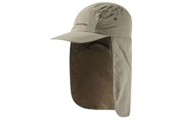 50061600392 Craghoppers Nat Geo NosiLife Desert Hat - Mens-Pebble-S M