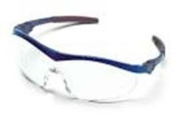 Crews Glasses Safety Storm BLU/CLR ST120 Glasses Safety Storm BLU/CLR