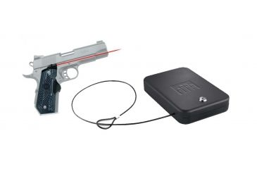 Crimson Trace 1911 Bobtail Government/Commander Master Series G10 Tactical & FREE Nanovault NV 200 Hand Gun Safe