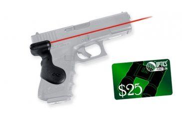 2-Crimson Trace Compact Glock Laser Gun Grip