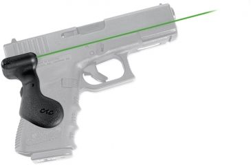 Crimson Trace Glock, 19, Lasergrips, Rear Activation-Green, Clam Pack 191580