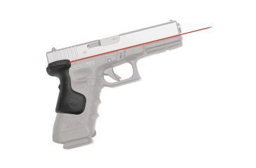 Crimson Trace Glock Gen 3 Lasergrip, Rear Activation, Black, Fit 17,17L,22,31,34,35 LG-637