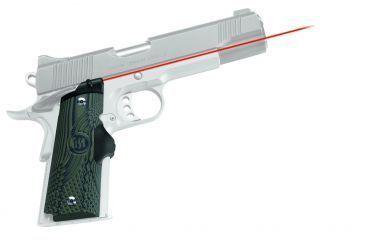 Crimson Trace Master LaserGrip 1911 Full-Size Laser Sight, Green G10 LG-910